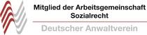 Mitglied in der Arbeitsgemeinschaft Sozialrecht des Deutschen Anwaltvereins